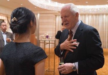 Chancellor in Tokyo